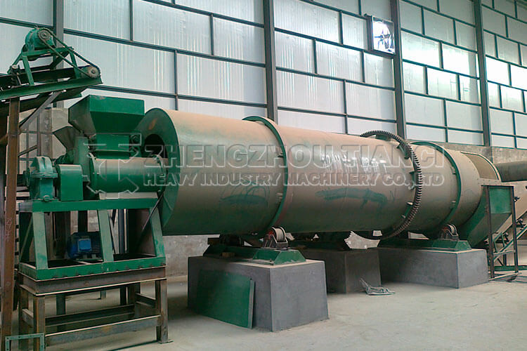 Organic Fertilizer Production Line Installation Site2