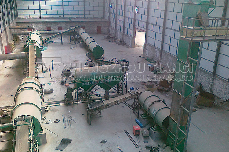 Organic Fertilizer Production Line Installation Site1