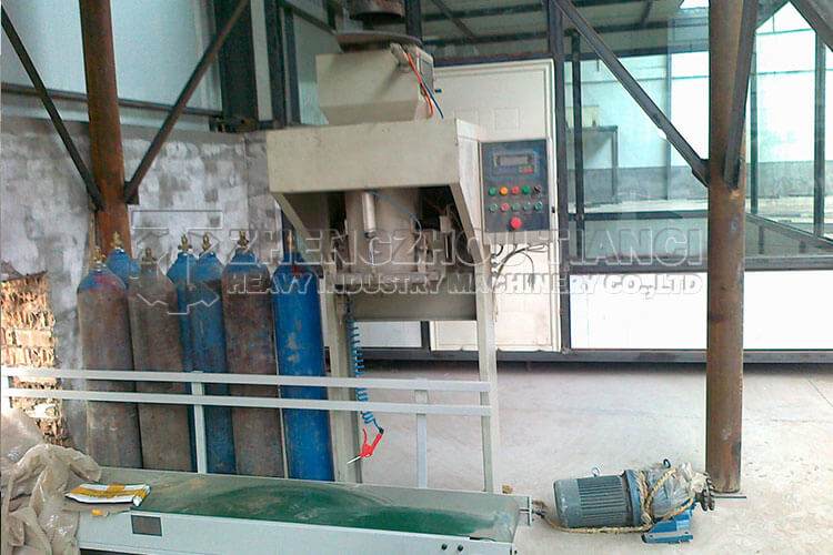 Organic Fertilizer Production Line Installation Site4