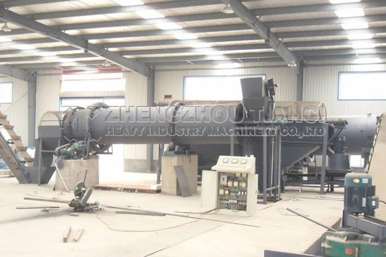 Disc Granulator Production Line Installation Site4