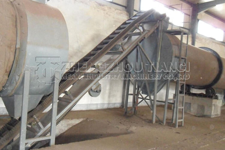 Disc Granulator Production Line Installation Site3