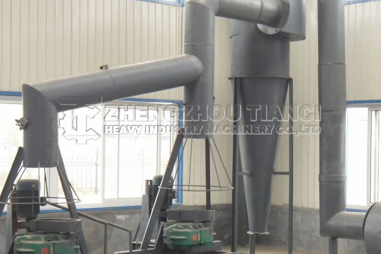 Disc Granulator Production Line Installation Site5