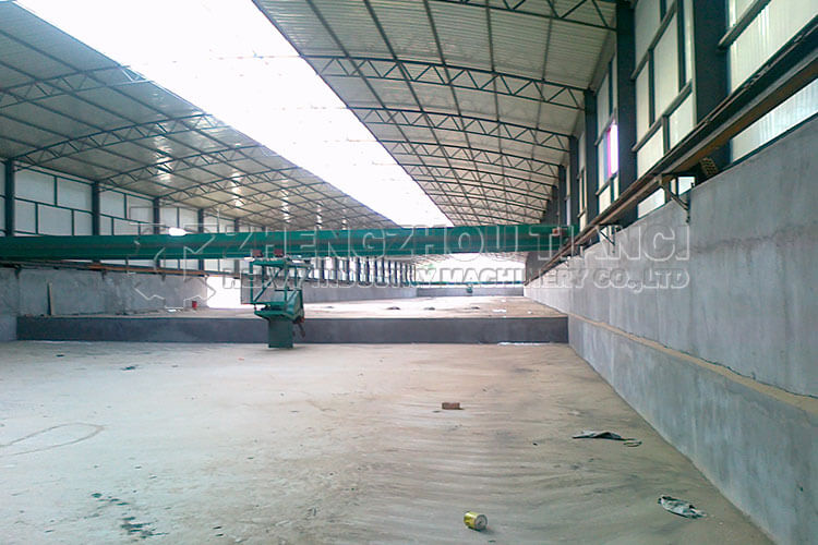 Organic Fertilizer Production Line Installation Site5