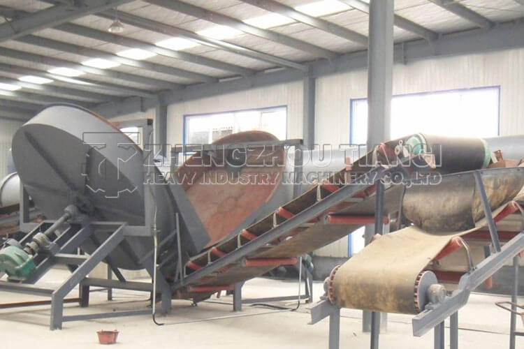 Disc Granulator Production Line Installation Site2