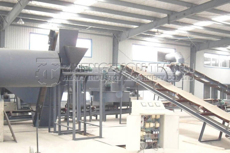 Disc Granulator Production Line Installation Site1
