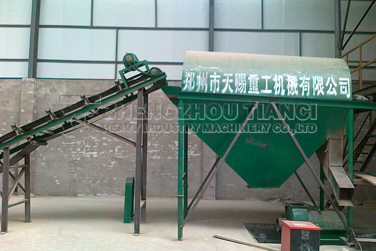 Organic Fertilizer Production Line Installation Site3