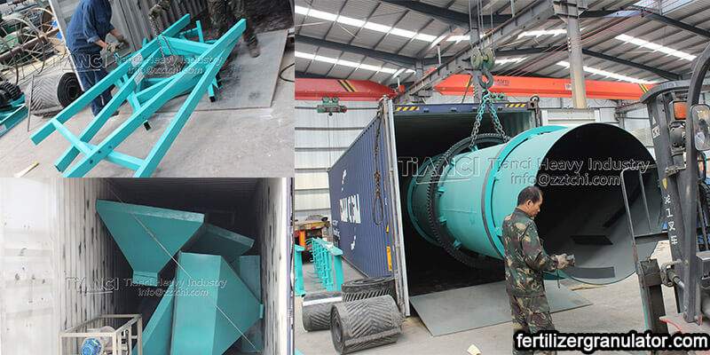 BB Fertilizer Production Line Equipment to Nigeria