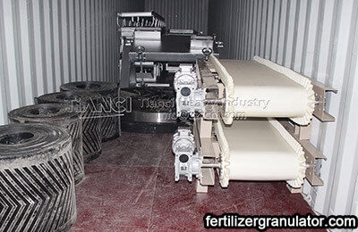 fertilizer pellet production machinery