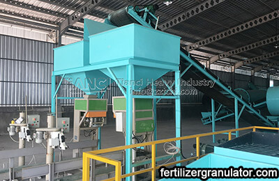 NPK fertilizer production process equipment