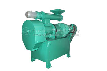 ring die pelleting machine