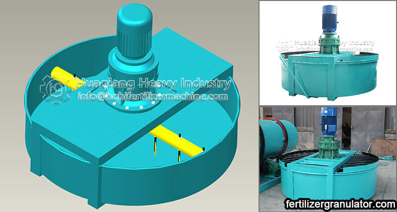 fertilizer disc mixer