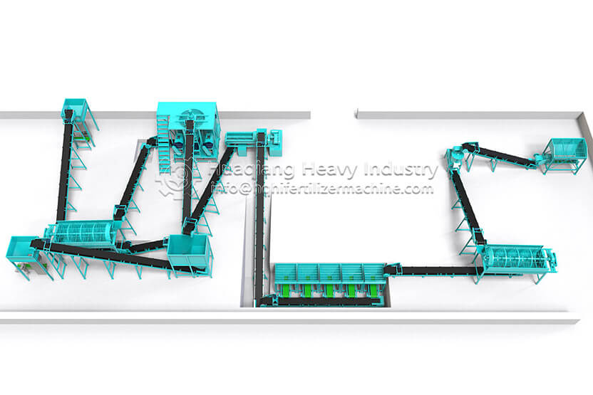 Flat die Granulator Production Line