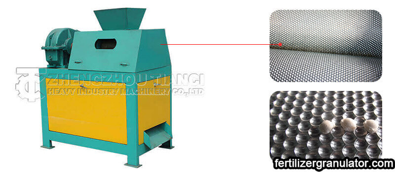 roller press granulator for fertilizer granulation process
