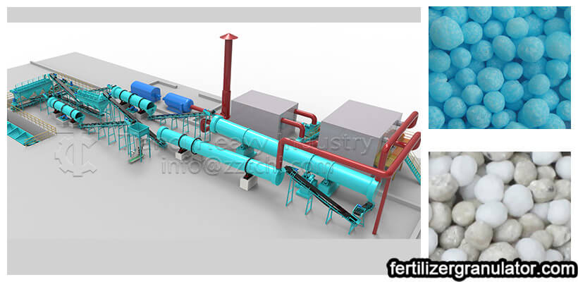NPK fertilizer production process