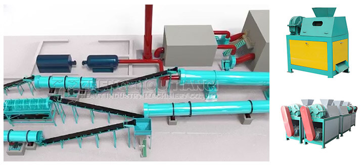 roller extrusion granulator of NPK compound fertilizer production line