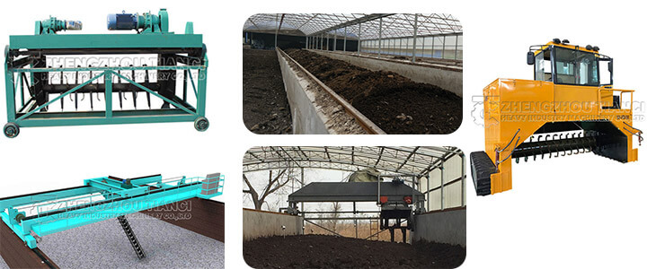 Organic fertilizer fermentation turning machine equipment