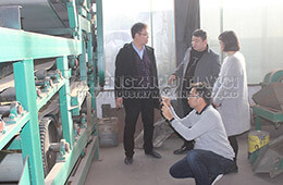 Indonesian customer visit our factory