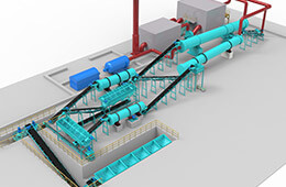 NPK compound fertilizer production line