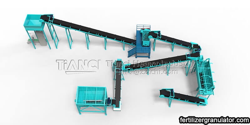 organic fertilizer powder production line