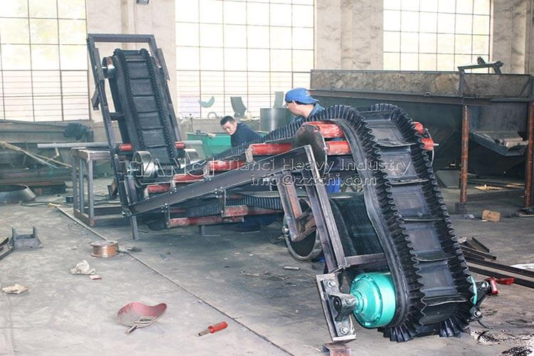 Large Angle Belt Conveyor