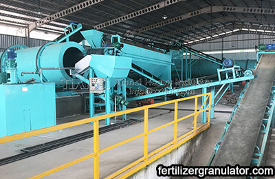 Small organic fertilizer production equipment